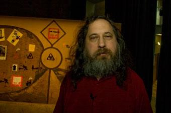 Richard Stallman Barcelona CCCB
